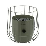 Cosiscoop Basket Gaslantaarn (Ø26cm h:31cm) Olive_