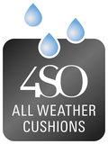 4 Seasons Outdoor Accor loungestoel antraciet_