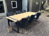 Alto teak tafel 4 Seasons Outdoor met aluminium onderstel_