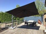 Set horizon premium zweef parasol  4 Seasons outdoor_