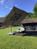 Zweef parasol Hacienda parasol Charcoal _