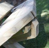 Boombank verduurzaamd hout_