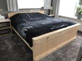 Steigerhouten Bed 2-Persoons_