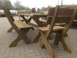Picknickset Leontien 3 delig verduurzaamd douglas hout _