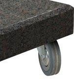 Siesta graniet voet antraciet 90 kg 4 Seasons Outdoor_