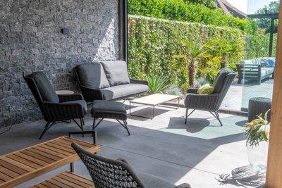 4 Seasons Outdoor Wing loungestoel 5 delig optie 3