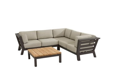 4 Seasons Outdoor Meteor loungeset 4-delig optie 3