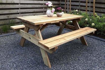 Picknicktafel Belinda verduurzaamd douglas hout