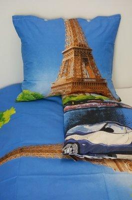 Dekbedovertrek Parijs 140 x 200 cm