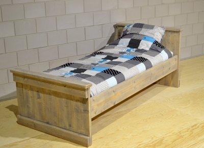 Steigerhouten bed persoons jvb meubels steigerhouten bedden