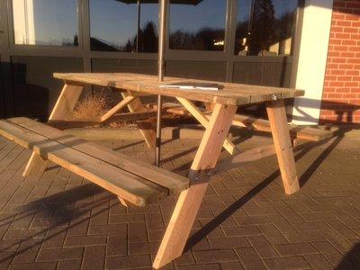 Picknicktafel basic grenen verduurzaamd 180 cm