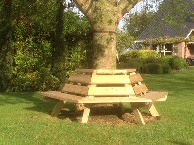 Boombank verduurzaamd hout