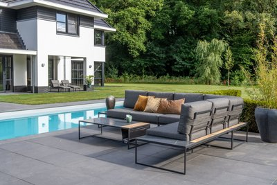 4 Seasons Outdoor Patio loungeset 5-delig optie 1