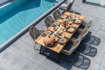 4 Seasons Outdoor Ramblas eetset 7 delig optie 1