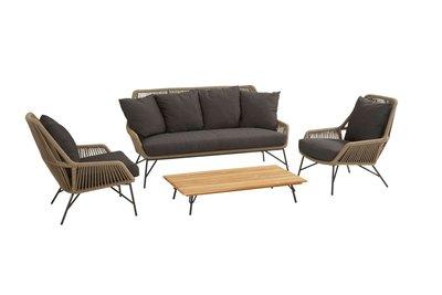 4 Seasons Outdoor Ramblas loungeset 4 delig optie 1
