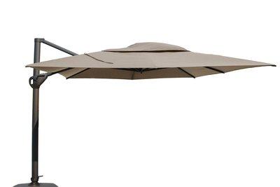 Zweef parasol Hacienda parasol Taupe