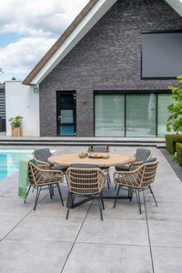 4 Seasons Outdoor Cottage eetset 7-delig optie 1