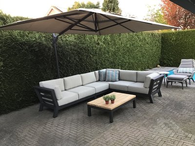 4 Seasons Outdoor Meteoro loungeset 5-delig optie 1