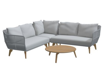 4 Seasons Outdoor Raphael loungeset 4-delig optie 3