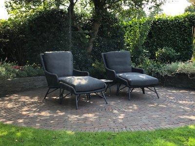 4 Seasons Outdoor Wing loungestoel 2-delig optie 1